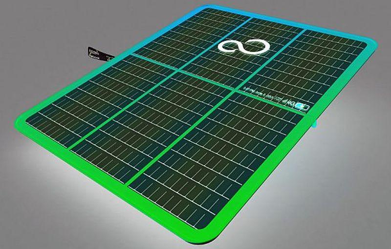 Lifebook Leaf multipurpose laptop concept