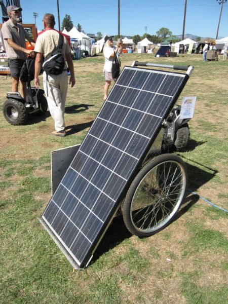 Solman Mobile Solar Generator