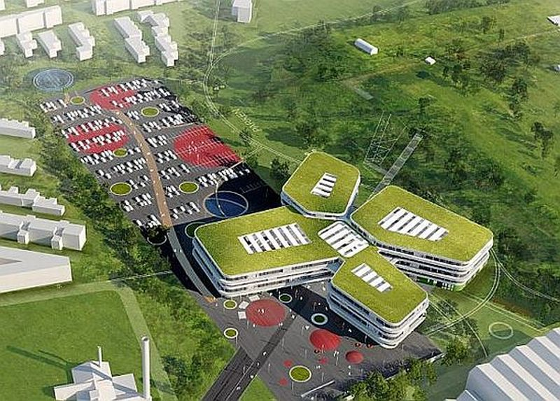 Sustainable educational complex in Denmark