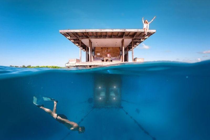 Underwater Room, Manta Resort, Pemba Island, Zanzibar
