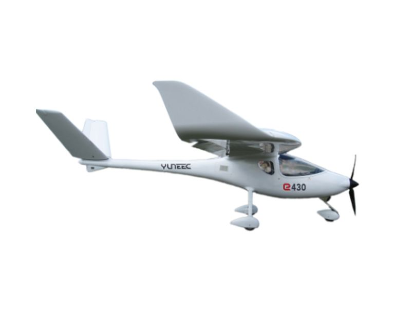 Yuneec's all-electric e430 airplane