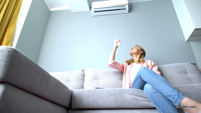 high energy requirements of air conditioning