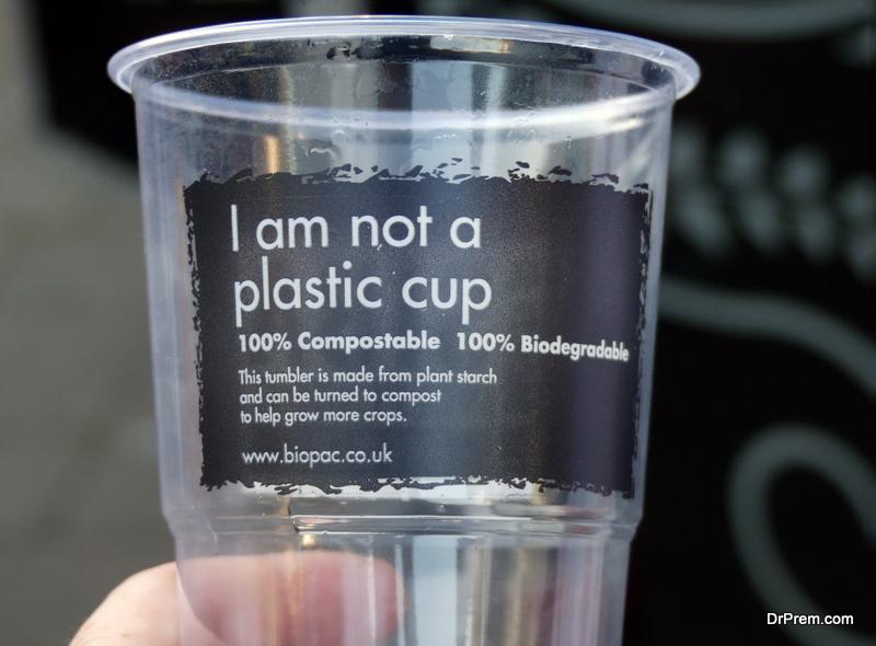 Biodegradable plastic