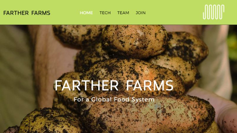 Farther Farms and Carbon Dioxide Farming
