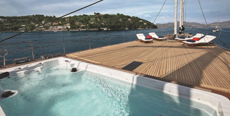 fuel-efficient and sustainable yacht