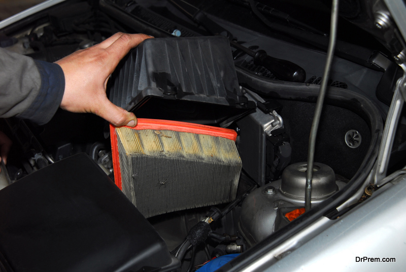 check the air filter