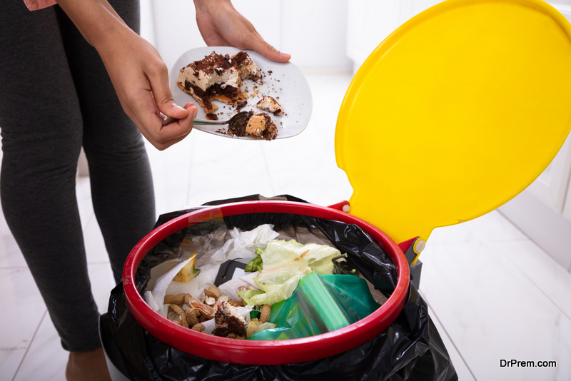 utilize your food waste in making compost