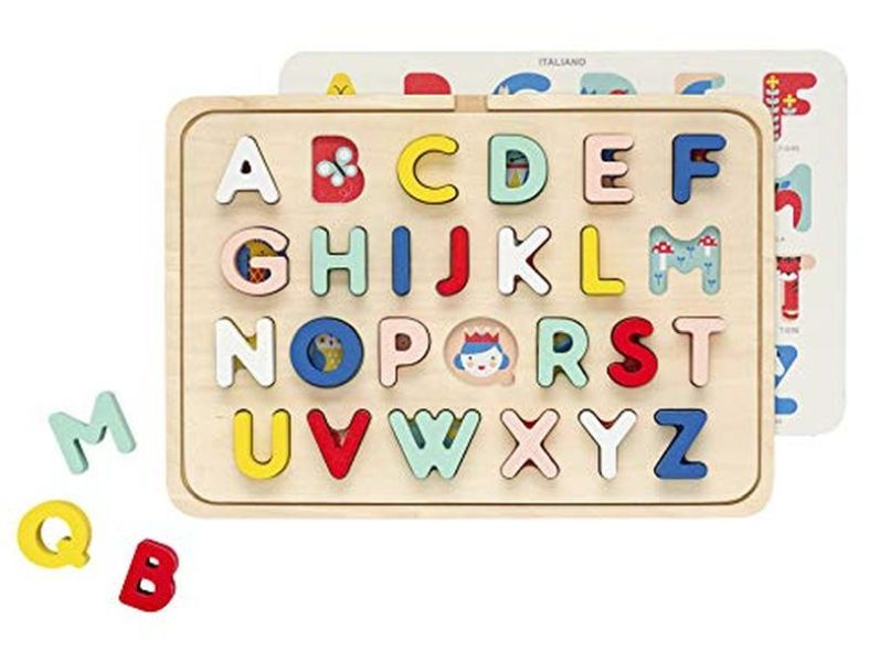 Alphabet Wooden tray Puzzle from Petit Collage