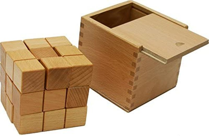 Wooden puzzle blocks from TOWO