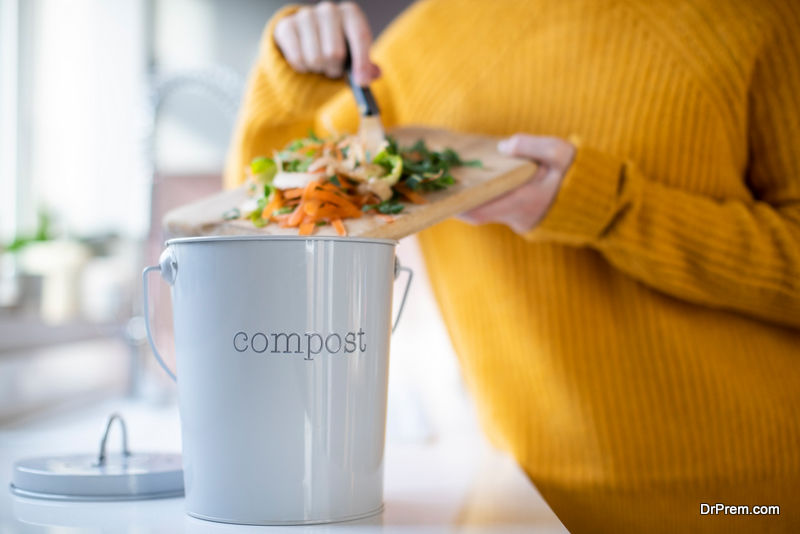 composting from kitchen waste