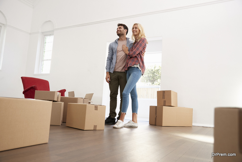 couple Moving to a Smaller Home