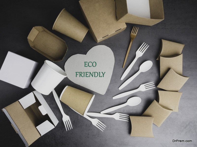 Biodegradable Utensils and Cutlery to Reduce Plastic Pollution