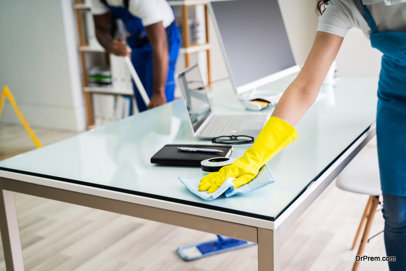 Clean an Eco-friendly Office