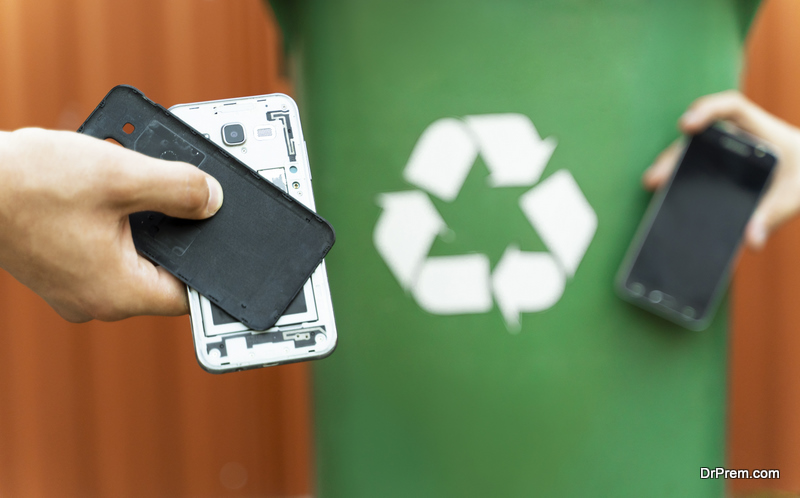 recycling old devices