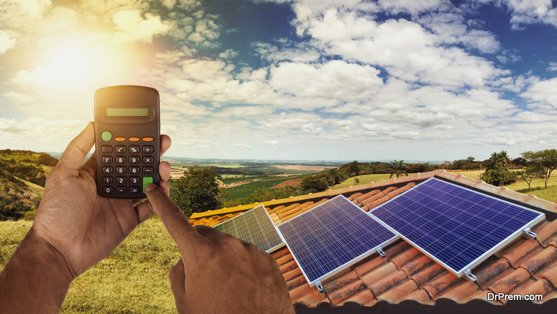 solar panels are initially expensive