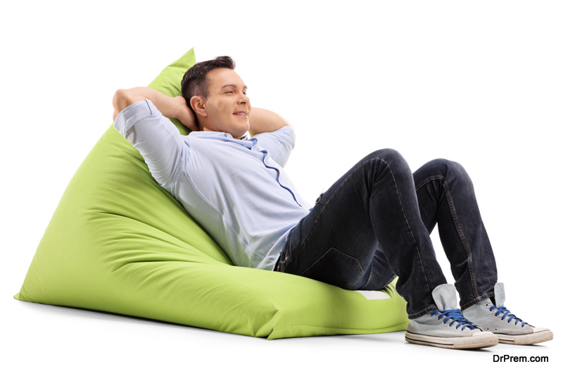 Relaxed guy