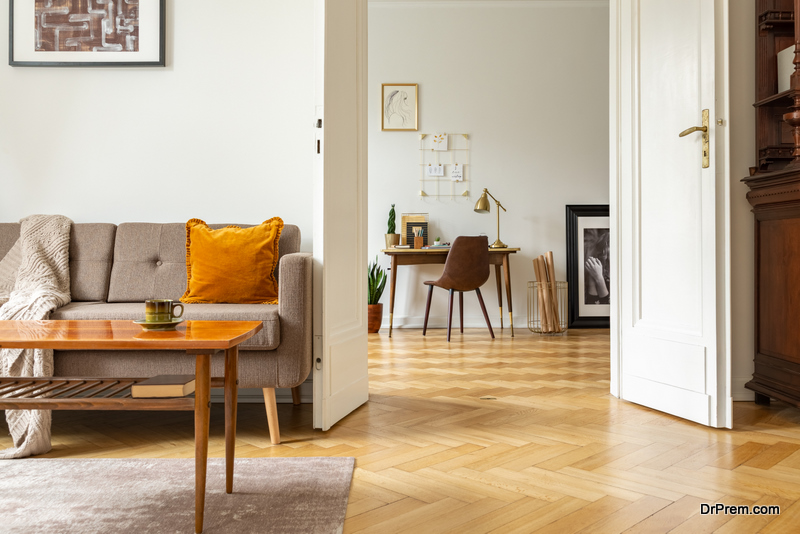 Extravagant appearance of flooring